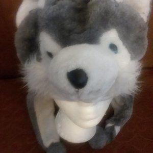 Fuzzy Warm Wolf Hat